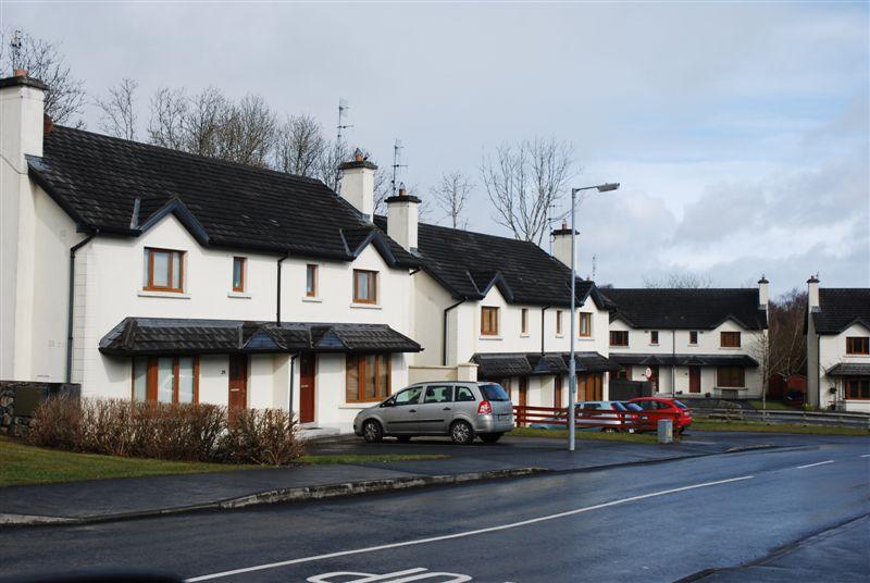 new housing estate development