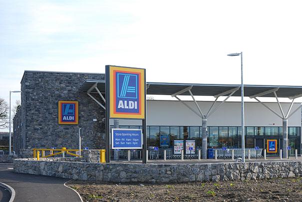 Aldi Store Construction